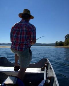 Fishing on the Quabbin