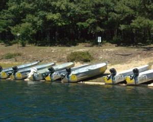 Quabbin Fishing Boats