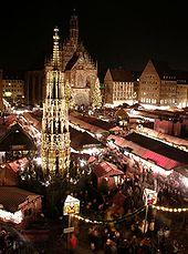 Weihnachtsmarkt in Nuernberg