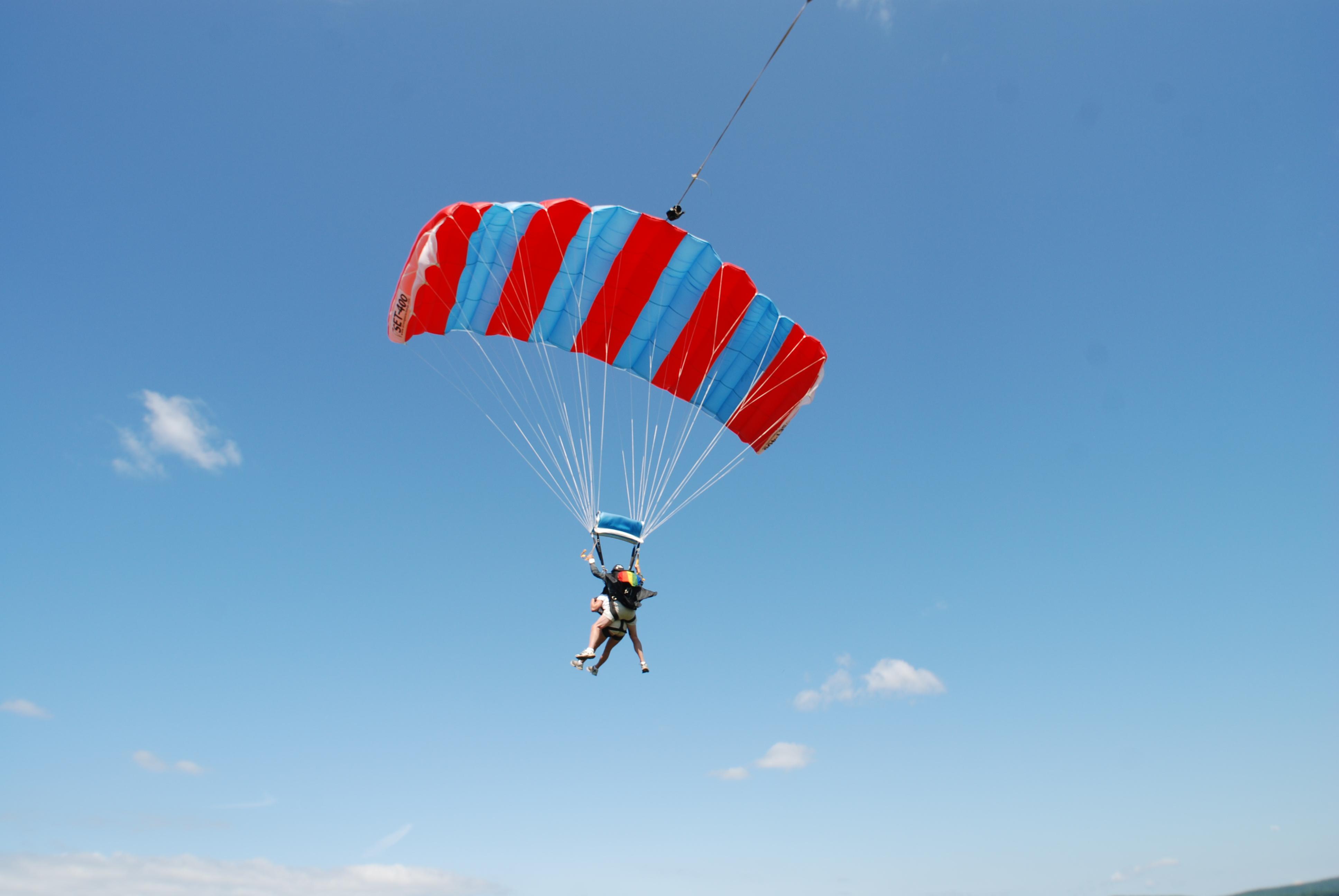 Картинки с парашютом фото
